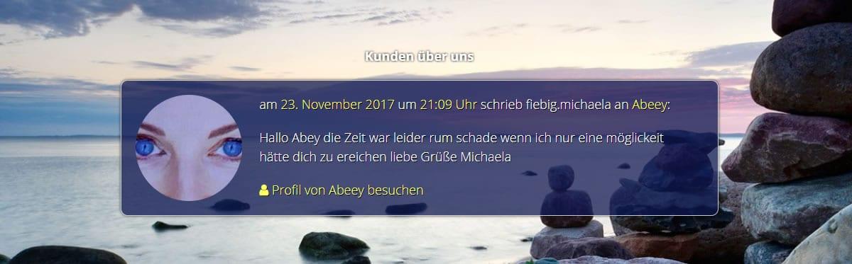 Telefonische Berater und Hellseher Kundenmeinungen in 96179 Rattelsdorf