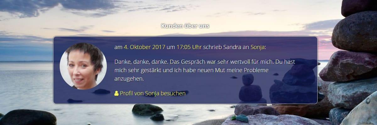 Telefonische Berater und Medium Kundenstimmen für  Bad Schmiedeberg