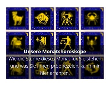 Monatshoroskope in Sachsen
