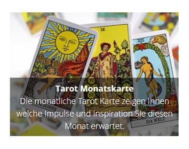 Tarot Monatskarte für  Sachsen