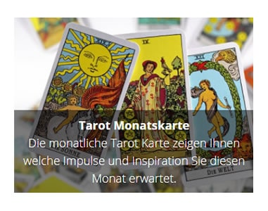 Tarot Monatskarte in  Kreuztal